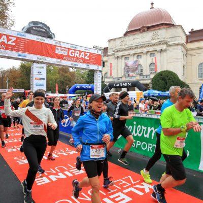 Neuer Streckenrekord beim Graz Marathon